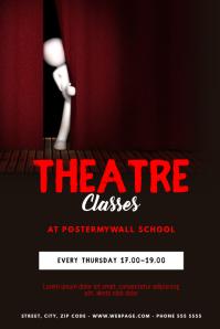 Theatre Classes Flyer Template