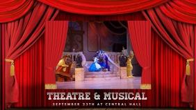 theatre musical film video advertisin template
