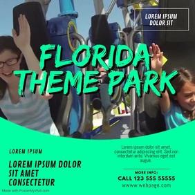 Theme park Video Design Template