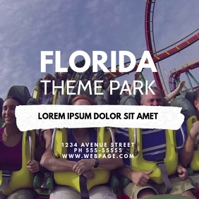 Theme Park Video Design Template