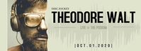 THEODORE WALT DJ Facebook Cover Photo template