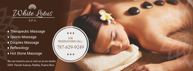 Therapeutic Spa Massage Center Banner