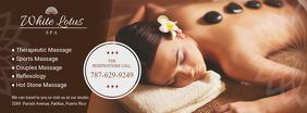 Therapeutic Spa Massage Center Banner