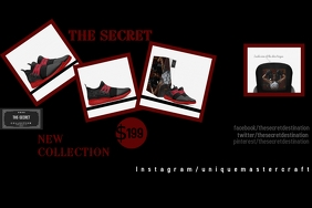 thesecret collection Poster template