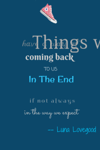 Things We Lose- Luna Lovegood