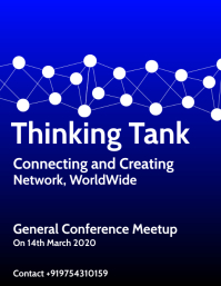 Think Tank Poster Template