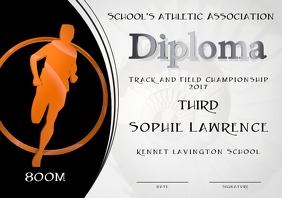 third place diploma