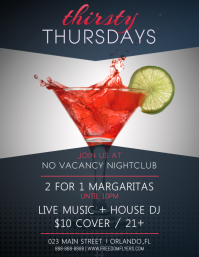 Thirsty Thursday Flyer