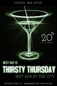 60+ Customizable Design Templates for Thirsty Thursday ...
