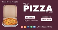 This is Pizza house discount Facebook online template