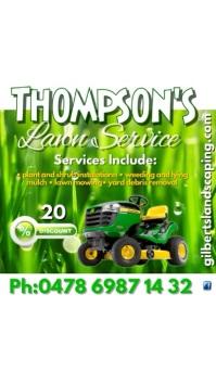Thompson's Lawn Service