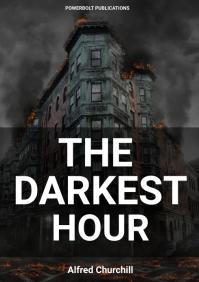 thriller fantasy apocalyptic novel book cover A4 template