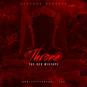 Throne The Red Mixtape CD Cover