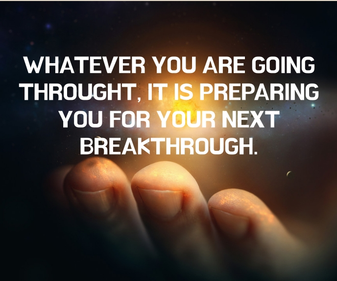 THROUGHT AND BREAKTHROUGH QUOTE TEMPLATE สามเหลี่ยมขนาดใหญ่