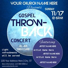 Throw-Back Church Concert