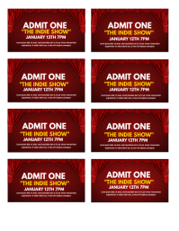 Perfect Concert Tickets Template. Tickets Throughout Concert Ticket Template Free