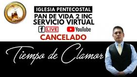 TIEMPO DE CLAMOR โพสต์บน Twitter template