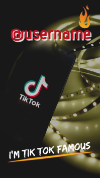 tik tok/background/channel/music/videos template