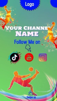 TIK TOK Template Instagram-verhaal