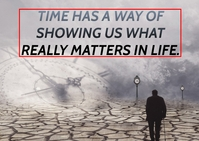 TIME AND LIFE QUOTE TEMPLATE A6