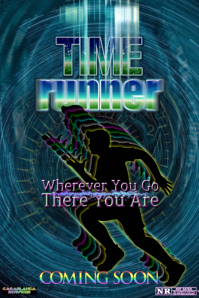 Time Runner Poster template