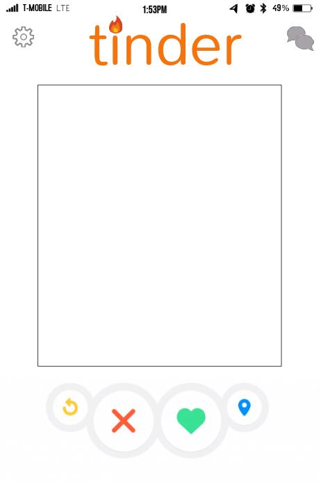 Tinder profile template