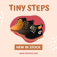 Tiny steps shoes - Product display ad Instagram Post template