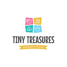 Tiny Treasures Babysitting Logo