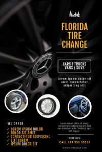 tire change flyer template