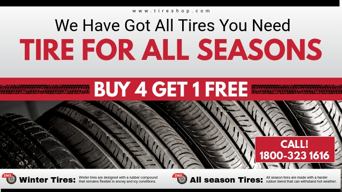 Tire Shop Deal Digital Display Ad