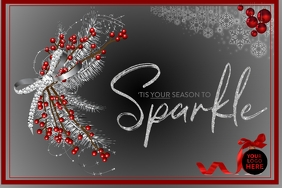 Tis your season to sparkle grey