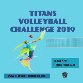 titans volleyball challenge 2019 Iphosti le-Instagram template
