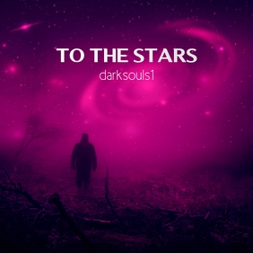 To the Stars CD Cover Template