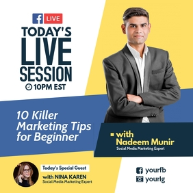 Today's live session facebook
