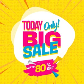 Today Only Big Sale Instagram Video Post