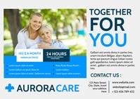 together for you postcard nursing home elder template