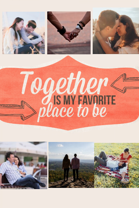 Together is my favorite place to be Poster Romantic Gift