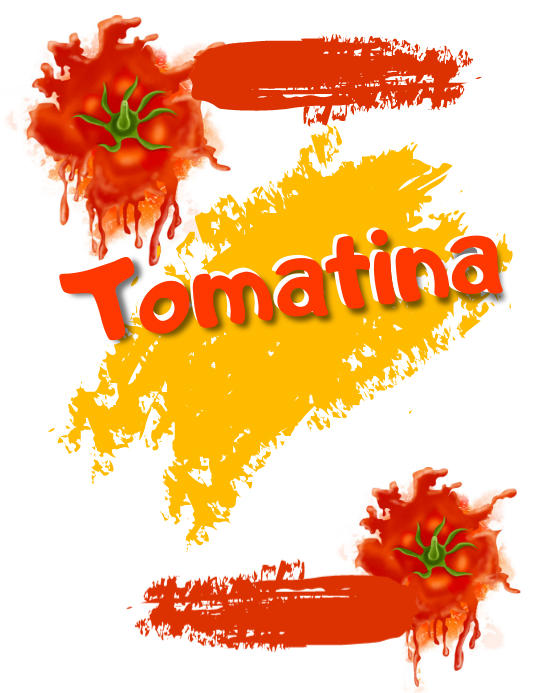 tomatina Flyer (US Letter) template
