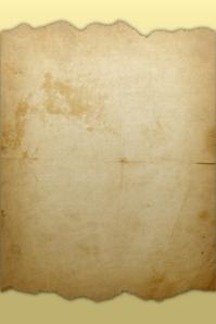 Torn Parchment Paper Plakat template
