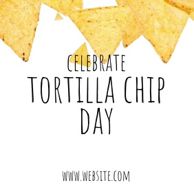 Tortilla chip day