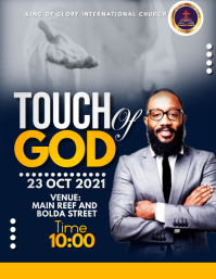 touch of God Flyer (US Letter) template