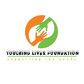 Touching lives logo template