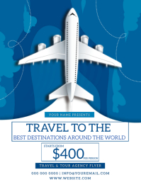 TOUR & TRAVEL DEALS FLYER TEMPLATE