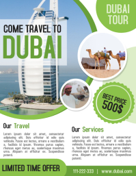 Tour and Travel agency business flyer and poster template