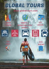 Tour company flyer