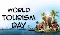 Tourism Day Tag template