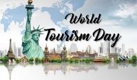 Tourism Day Mærke template