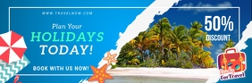 Tourism Holiday Package Agency Email Header ส่วนหัวอีเมล template