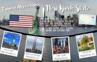 Tourist Attractions Template 小报