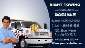 Towing Service Business Card
